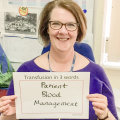 #Transfusionin3words